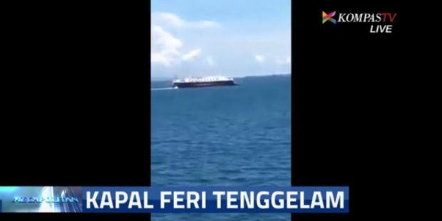 Detik-detik Kapal Rafelia Tenggelam, Warga Berteriak Takbir
