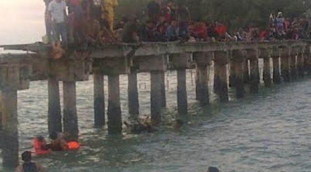 Dermaga Pulau Berhala Ambruk, 100 Pengunjung Tercebur ke Laut