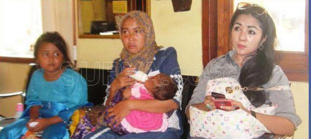 Takut Dipukuli Suami, Ibu Ini Bawa 2 Anaknya Ngungsi ke Kantor Polisi