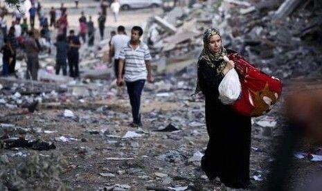 Biadab! Ibu Hamil Palestina dan Putri Balitanya Tewas Dibombardir Israel