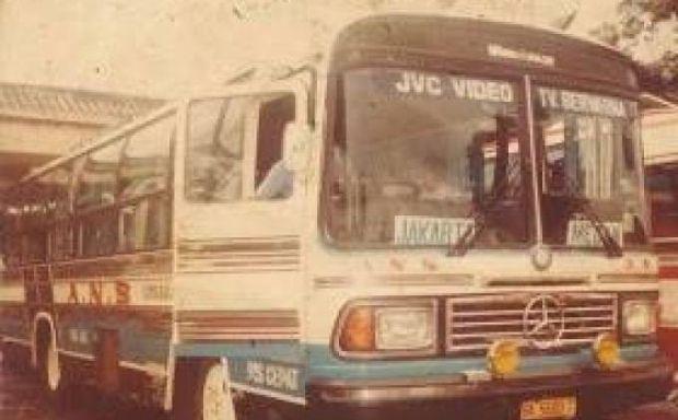 """Inilah Foto-foto Bus """"Tempo Doeloe"""" yang Pernah Berjaya di Pekanbaru"""