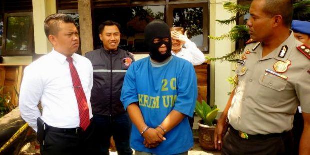 Alihkan Perhatian agar Bisa Kabur dari Mapolres, Pencuri Ini Sampai Hati Lemparkan Anaknya ke Polisi