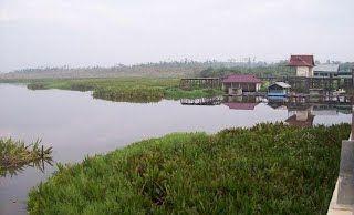 Potensinya Memukau, Danau Napangga di Rohil Sarat dengan Legenda