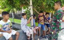 tmmd-ke105-kodim-0726demak-di-desa-kalikondang-menginspirasi-anakanak-ingin-jadi-tentara