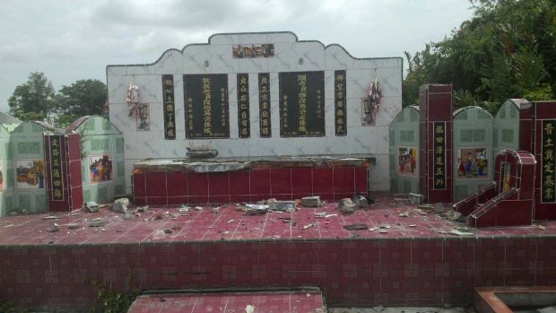Uniknya Pemakaman Tionghoa di Bagansiapiapi