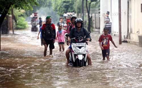 Korban Banjir di Tualang Kabupaten Siak Mulai Terserang Sakit Gatal-gatal hingga Asma