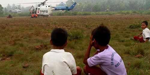 Tiga Helikopter Disiapkan Antisipasi Bencana Kabut Asap Riau
