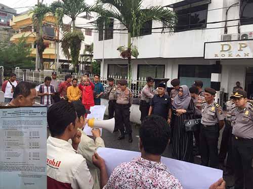 """Surat Kontrak Media Berkop Diskominfo Kampar Jadi <i>Viral</i> dan """"Raibnya"""" Dana Advertorial di Sekretariat DPRD Rohil Jangan Dianggap Masalah Sepele"""