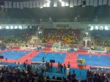 ratusan-pelajar-meriahkan-pembukaan-taekwondo-internasional-championship-2015