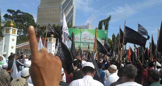 Besok Ribuan Massa Demo Tangkap Ahok di Depan Polda Riau, Ruas Jalan di Pekanbaru Bakal Dialihkan