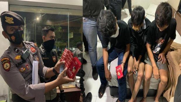 Puluhan Kondom dan 1 Pak Obat Kuat Disita dari ABG di Pekanbaru