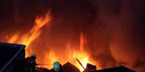 Ditinggal Pergi Mengaji, Rumah Seorang Warga Kepenghuluan Sungai Segajah Rohil Terbakar, 2 Anaknya Tewas