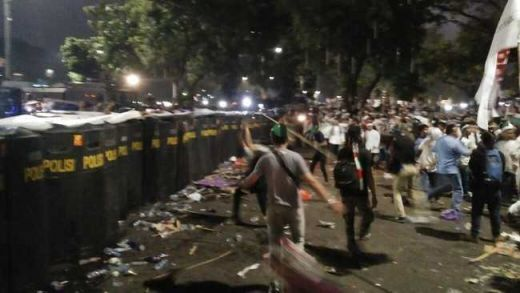 Seorang Anggota FPI Dumai Belum Ditemukan Usai Bentrokan di Depan Istana Negara