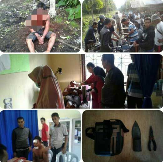 Rasain! Gagal Gasak Handphone, Pelaku Babak Belur Dipukuli Sendaur Rangsangpesisir Kepulauan Meranti