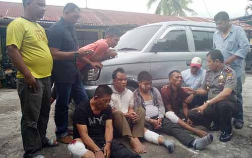 """Ditanya Kapolsek Payakumbuh tentang Jejak Kejahatannya, Bandit yang Biasa Menetap di Riau Ini Berkelit, """"Sumpah Pak. Sumpah. Diapakan Saja, Saya Mau..."""""""
