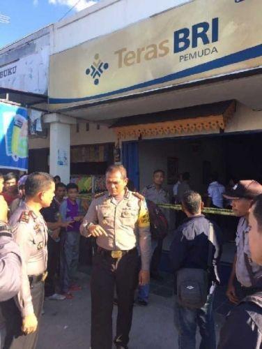 Polisi Bentuk Tim Khusus Pemburu Perampok BRI Jalan Fajar Payungsekaki Pekanbaru