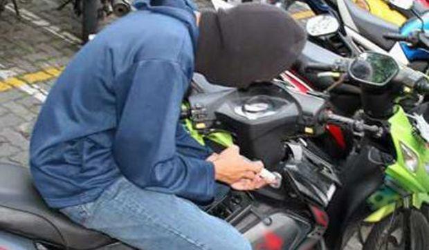 Coba Lawan Polisi saat Ditangkap, Pencuri Motor di Pekanbaru Ditembak