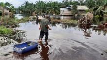 buaya-sering-nongol-di-air-banjir-anakanak-di-basilambaru-dumai-ketakutan