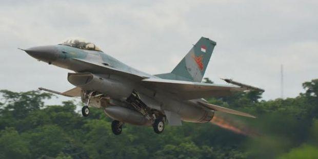 Laut China Selatan Memanas, F-16 dan Hawk Milik TNI Tingkatkan Patroli