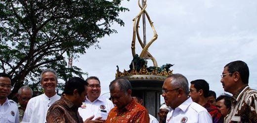 Dikecam karena Telan APBD Riau Rp420 Juta, Ketua KPK Bilang Pembangunan Tugu Antikorupsi Tidak Ada Masalah