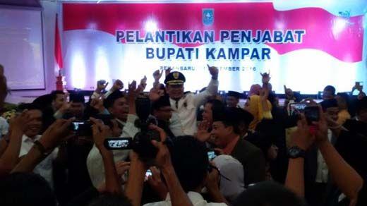 Diteriaki di Forum Resmi Pelantikan Penjabat Bupati, Jefry Noer Marah kepada Anggota DPRD Kampar: Kampungan!