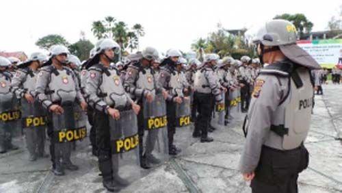 Amankan Demo BEM se-Riau, Kapolresta Pekanbaru Kombes Susanto Larang Anggotanya Bawa Senjata