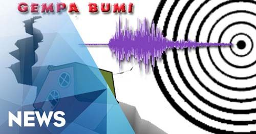 Kabupaten Rokan Hulu Riau Diguncang Gempa 5,3 Skala Richter