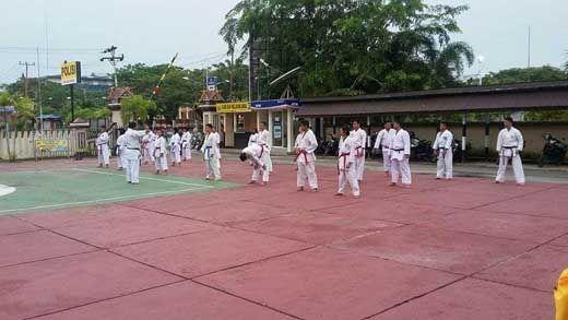 35 Atlet Forki Inhil Latihan Ekstra Jelang Kejuaraan se-Riau