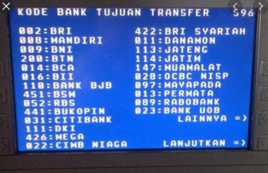 Mau Transfer Uang Antarbank Ini Daftar Lengkap Kode Bank Nasional Dan Daerah Di Indonesia Potretnews Com