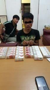 Terekam CCTV, Pria Spesialis Maling Sembako di Rohil Ini Tak Berkutik saat Ditangkap