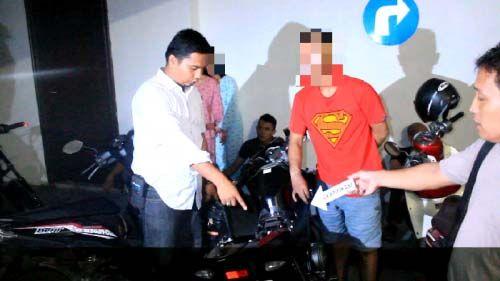 Empat Pria Loncat dari Lantai 4 Hotel Grand Central Pekanbaru saat Penggerebekan Pesta Narkoba