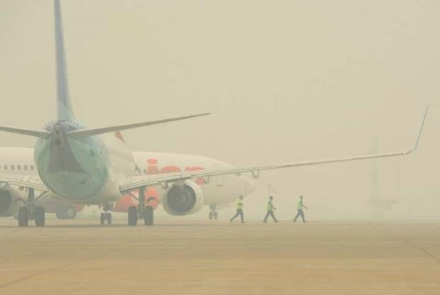 Lion Air Group Batalkan 81 Penerbangan Imbas Kabut Asap Karhutla di Riau