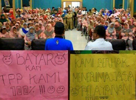 Tuntut Tunjangan Profesi Pekerjaan Dibayar Penuh, Tenaga Medis RSUD Arifin Achmad Provinsi Riau Ancam Mogok Kerja Hari Ini