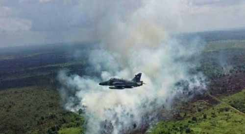 Pagi Nihil, Sorenya 2 Titik Panas Terpantau di Tanahputih Kabupaten Rokan Hilir