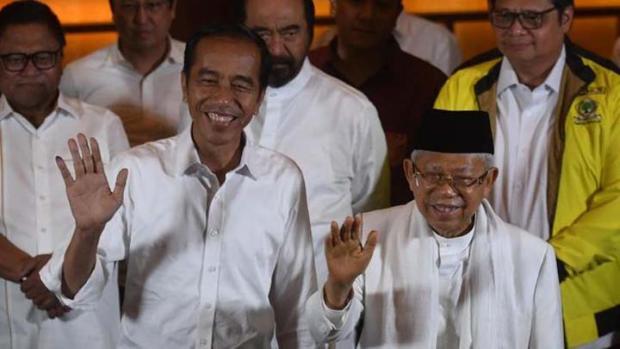 Hitung Cepat 6 Lembaga Suara Masuk 97 Persen: Jokowi Masih Unggul