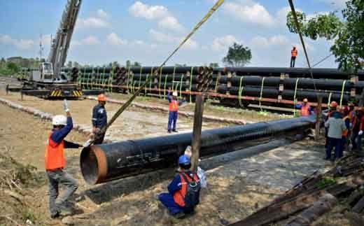 Pemerintah Segera Bangun Pipa Transmisi Gas, Jalur Duri-Dumai-Medan Masuk dalam Skema