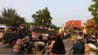 Sudah Lama Diintai, Polisi Bersenjata Lengkap Gerebek Tempat Judi Sabung Ayam di Rohil