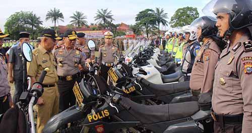 4.500 Personel Gabungan Diterjunkan Amankan Objek Vital di Riau Selama Operasi Ramadniya