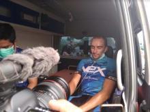 pembalap-asal-jerman-tibatiba-minta-bantuan-oksigen-usai-finis-etape-pertama-itour-de-siaki-2019