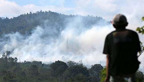 Titik Panas Meluas, Kabupaten Rokan Hulu dan Kota Dumai Siaga Darurat Bencana Asap