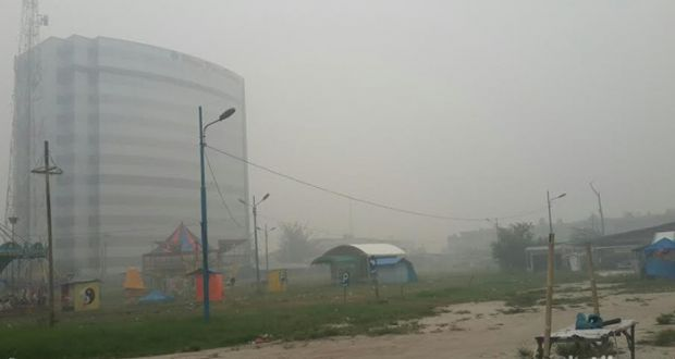 Hari Ini, Hampir Seluruh Wilayah Riau Kualitas Udaranya Berada di Level Tak Sehat hingga Berbahaya