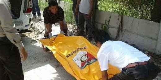 Mayat Mr X yang Ditemukan di Pembuangan Sampah Jalan Siak Pekanbaru Diduga Dibunuh, Ada Bekas Gorokan di Leher