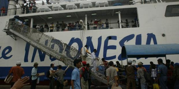 Tersisihkan Pesawat, Pemudik Lebaran Kapal Laut Tiap Tahun Terus Menurun