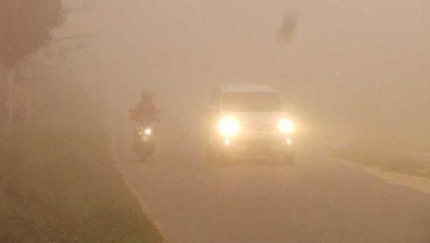 Ngeri... Pagi Ini Nyaris Semua Wilayah Riau Gelap karena Asap Makin Pekat dan Meluas