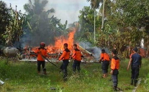 Sedang Duduk Santai, Nenek 72 Tahun di Desa Banglas Kepulauan Meranti Menjerit Histeris Melihat Dapurnya Sudah Dilalap Api