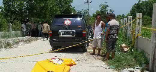 Mayat Pria yang Ditemukan di Pembuangan Sampah Jalan Siak Pekanbaru Ternyata Perantau Asal Bengkulu Bernama Ziko Agustari, Ada 40 Luka Tikam di Tubuhnya