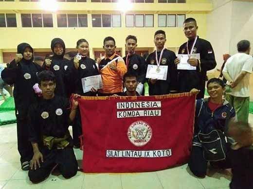 Silat Lintau IX Koto Raih 5 Medali di Porkot Pekanbaru dan Popwil Sumatera