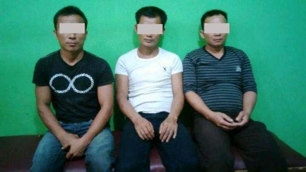 Asyik Main Judi, Tiga Warga Pangkalankerinci Diciduk Polisi