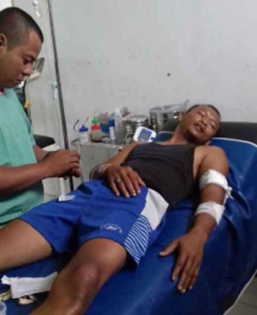 Seorang Pria Bersenjata Serang Polisi di Mandah Inhil, Pelaku Berhasil Kabur meski Kakinya Sudah Ditembak