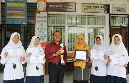 Ini Rahasia SMP Juara Pekanbaru Raih Juara I <i>Bio Expo School Competition</i> Tingkat Provinsi Riau